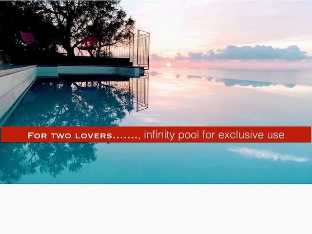 Romantic escape for 2 lovers.......