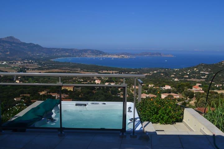 Villa avec magnifique vue mer L13 - Lumio