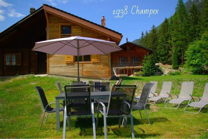 b&b la Grange Champex 2 chambres double