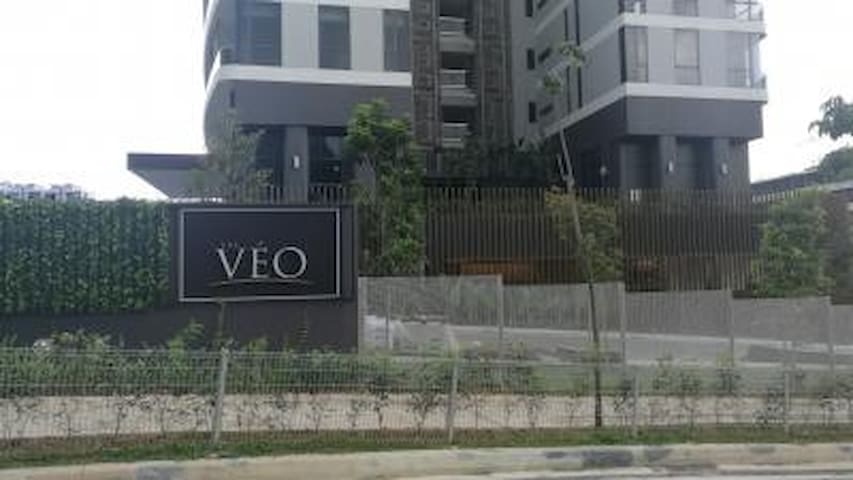 The VEO Condo-3 Bedrooms with Ultra Large Balcony