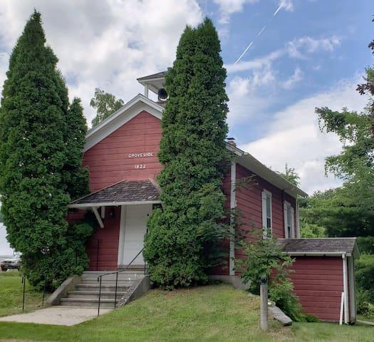 1800s Schoolhouse in prime Vermont location.