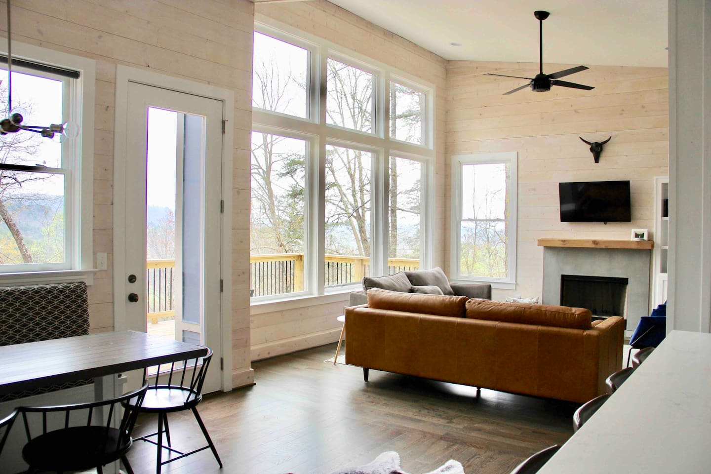 Floor to ceiling windows for you to enjoy the view