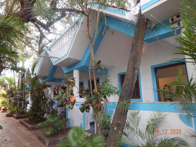 Birdsong, Anjuna- Standard Room-1 Garden View