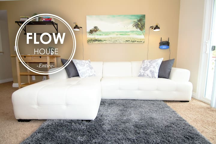 FLOW HOUSE ENTIRE: 2BR Apt Downtown MtView - Mountain View - Apartamento