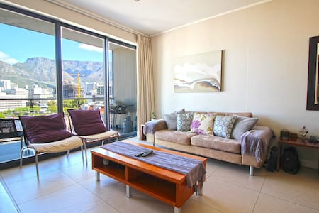 Fantastic urban suite with Table Mountain views - Kapstaden - Lägenhet