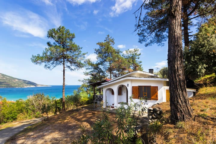 Villa Eleni for Rental in Kinira, Thassos - Thasos - Rumah