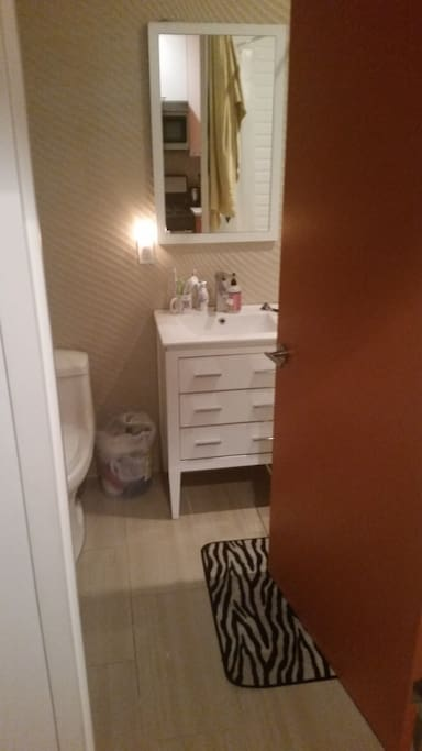 Big clean bathroom!