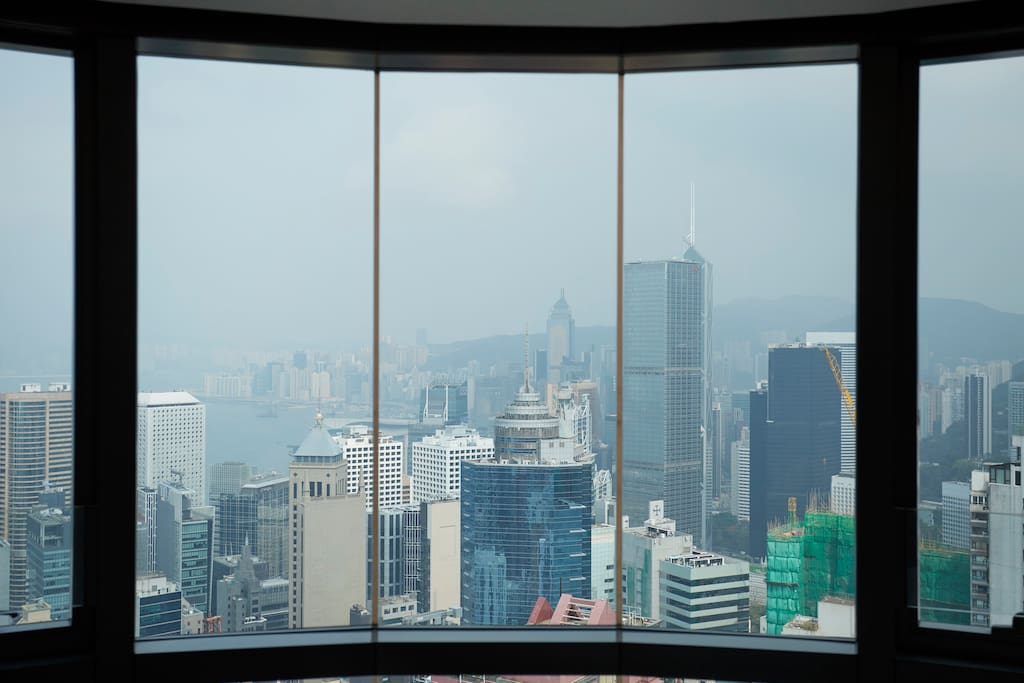 Great view of Hong Kong