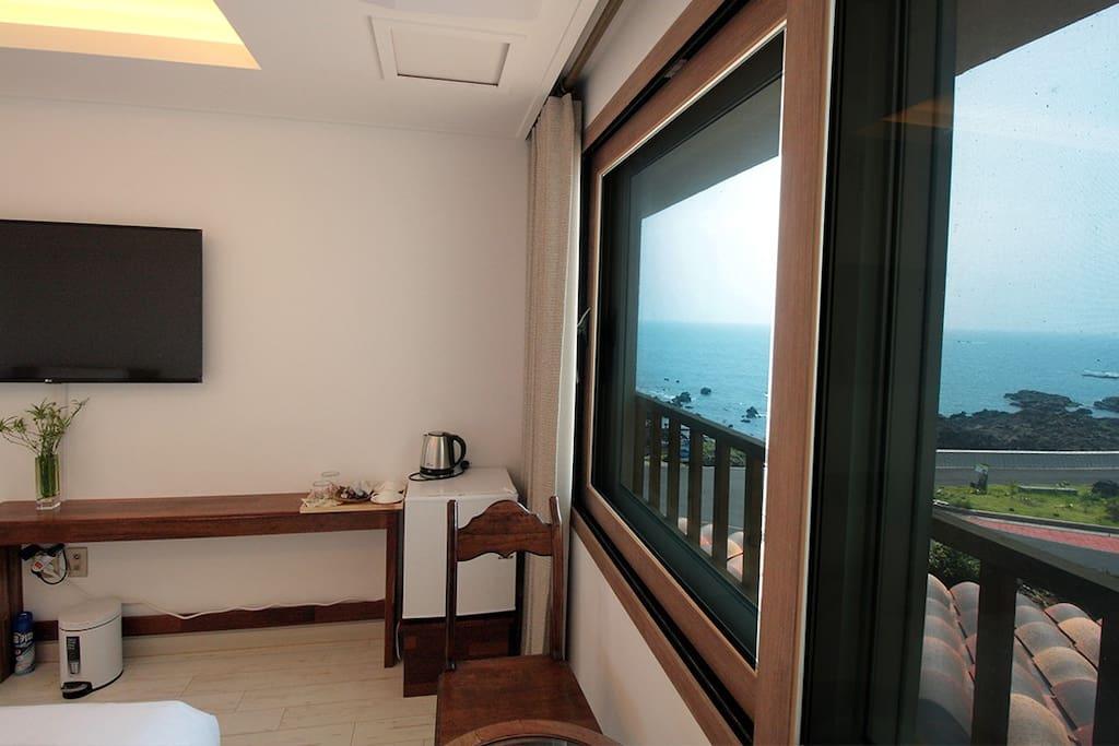 침실, 창, 전망 Bed room, window, view