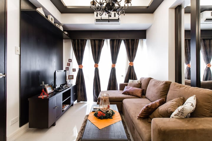 Cozy One Bedroom Condo @BGC Taguig - Taguig City  - Lägenhet