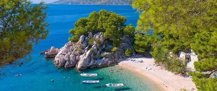 Makarska Riviera - Ferienvilla Peter mit Whirlpool