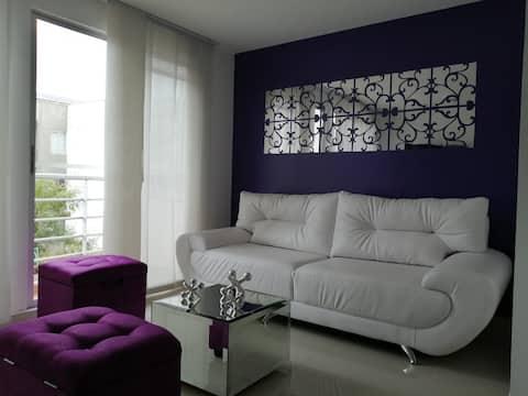 confortable apartamento en un sitio de lujo