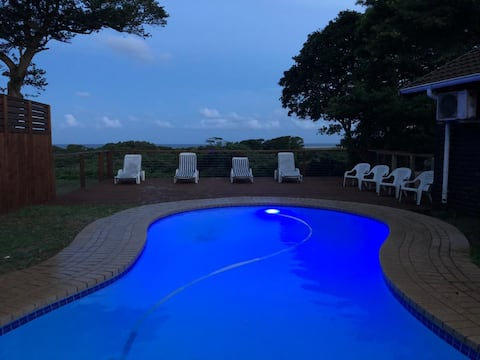 St Lucia Ocean View Lodge cabin