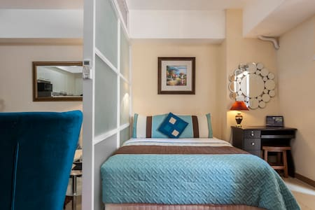 Suite Room w/ High Speed WIFI & Free Parking