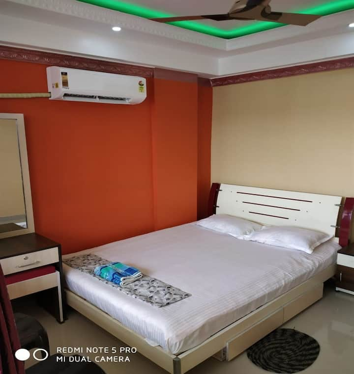 Bengal homestay(2BHK service Flat room1) nabadwip.