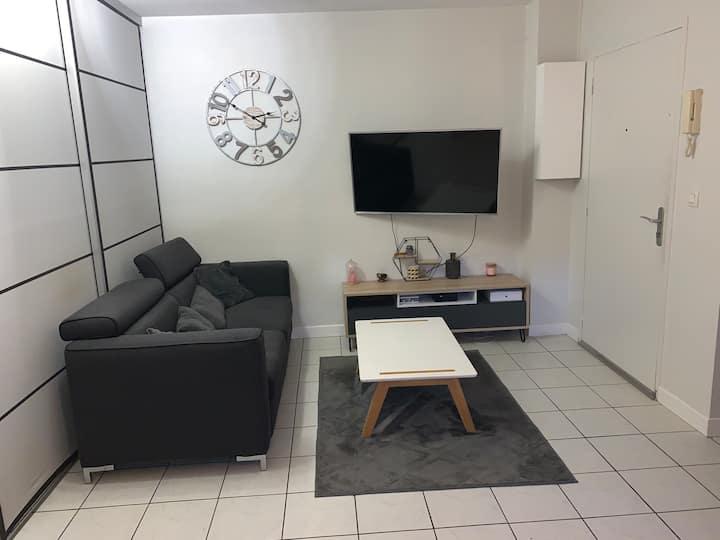 Appartement cosy + balcon à Chazay d'Azergues
