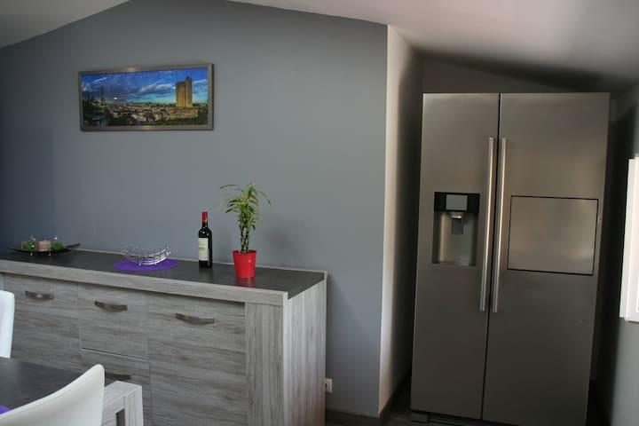 Appartement 1ch+ canapélit Les Vignes