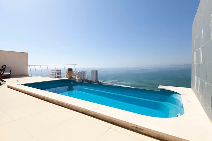 VILLLA INFINTY BEACH - Faro de Cullera - Chalet