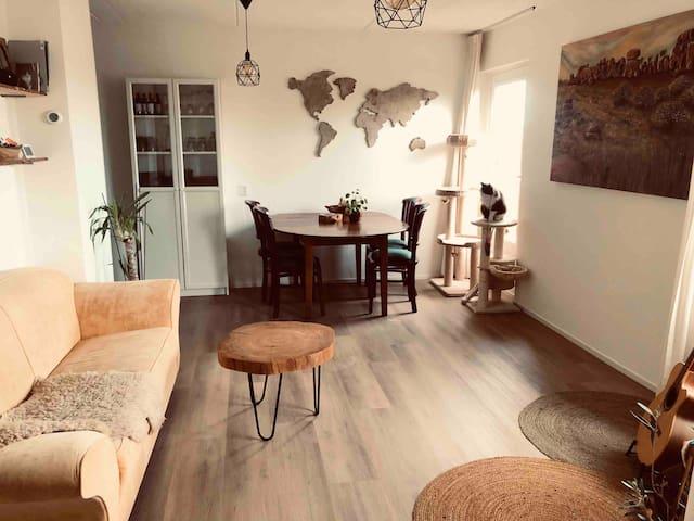 Cosy apartment in Amsterdam near metro