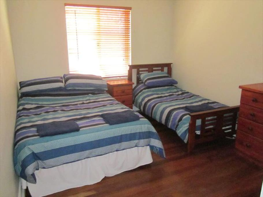 Second Bedroom - Double & Single Bed