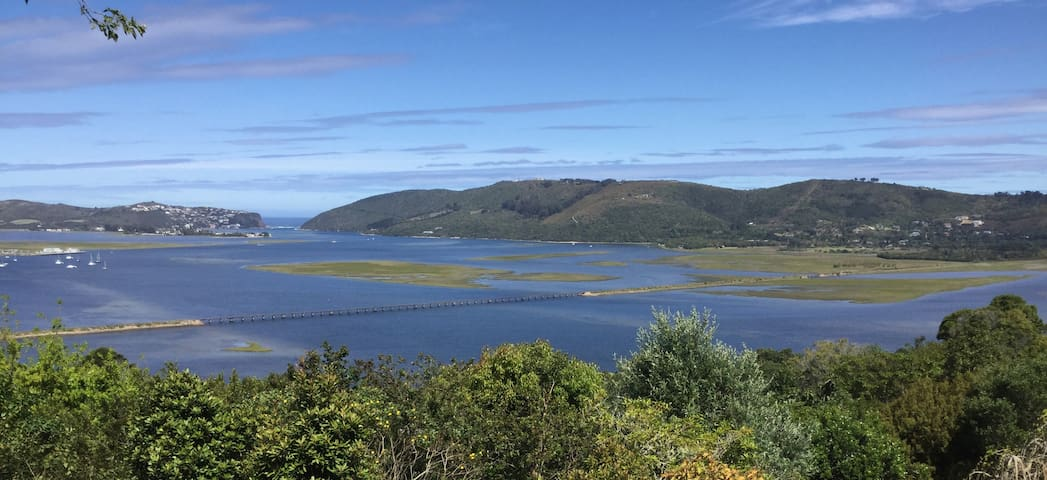 Dieu Donne – best view in Knysna! - Knysna - House