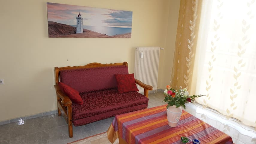 Attractive flat near the beach - Nea Agchialos - Apartment