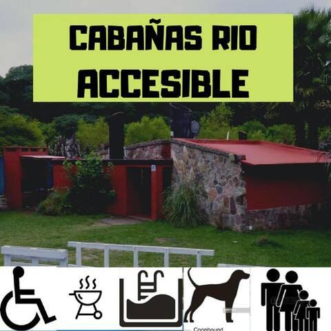 CABAÑA RIO ACCESIBLE - PAX 4