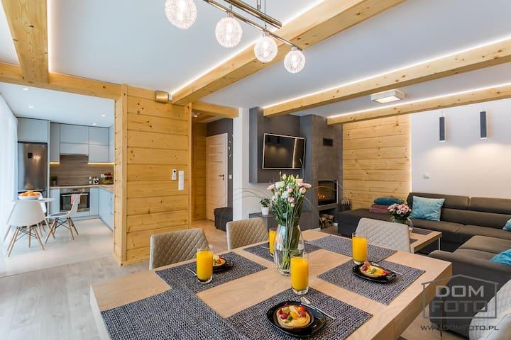 Komfortowy dom w górach SIESTA & FIESTA