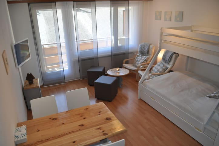 Centrally located studio - Free Wifi Access - Leukerbad