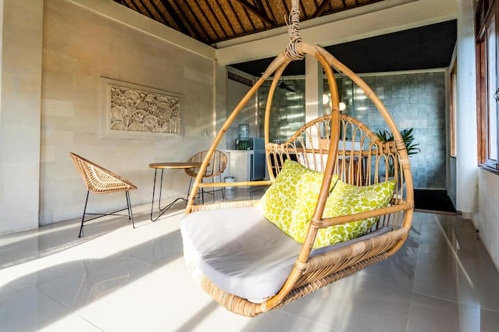 U3 Amazing 1bd Loft minute to Blanco Museum Ubud