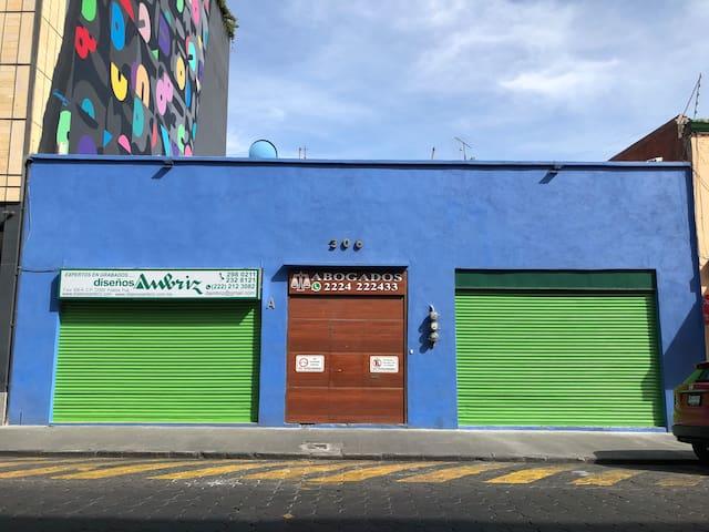 Habitación Privada en Centro Histórico de Puebla