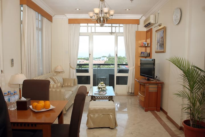 Family 2 Bed Room with Balcony & Kitchenette 01