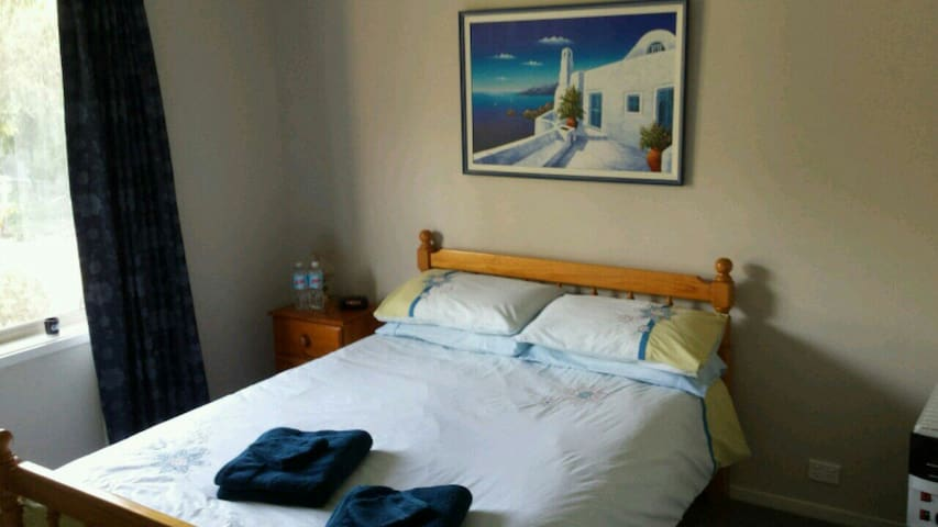 A second Double room is available for bookings of 3 or 4 guests. Also with built in wardrobe space