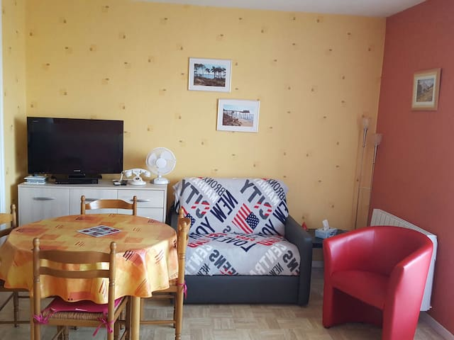 Jolie studio dans résidence calme - Rochefort - Apartamento