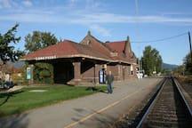 Amtrak still stops here!