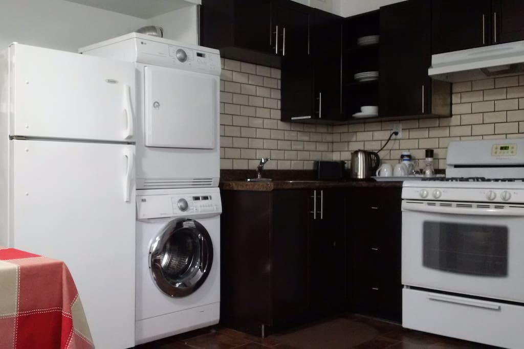 In Suite washer and Dryer