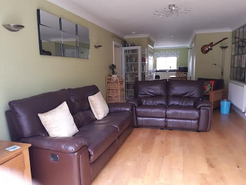 Self contained suite in centre of Devon village.