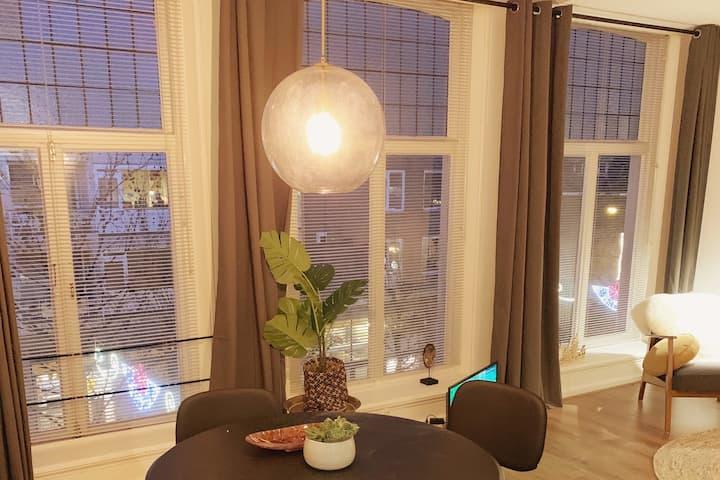 Herenhuis appartement hartje binnenstad