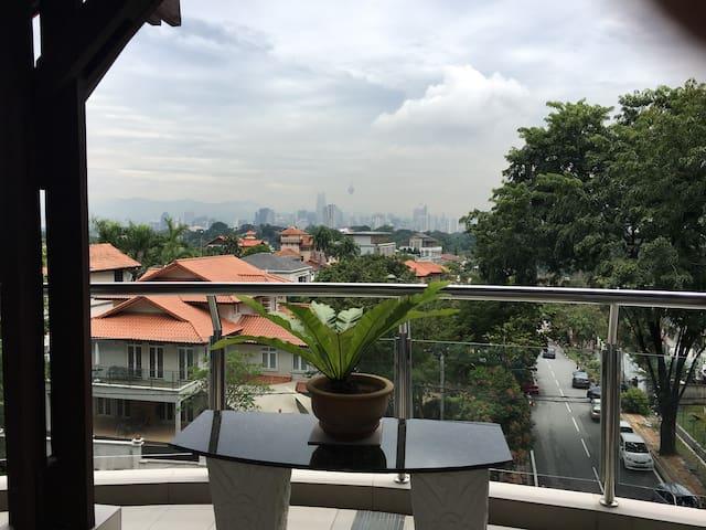 Perfect hilltop Bangsar city apartment