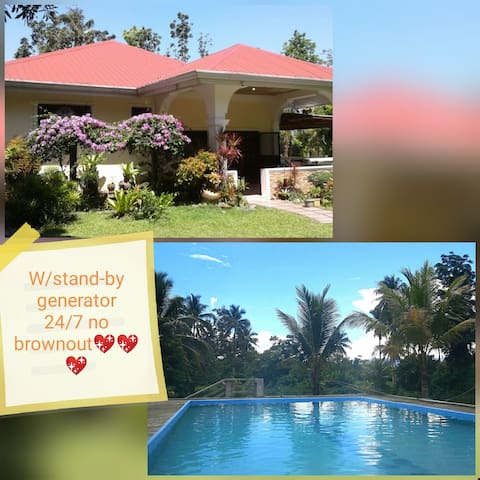 Baler homestay( farm resort).