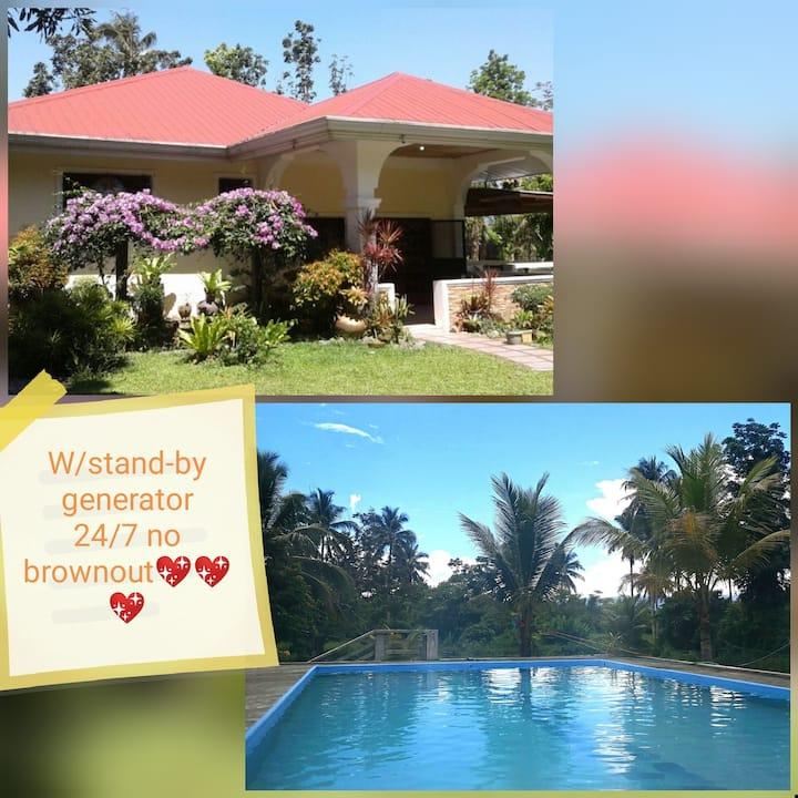 Baler homestay( farm resort).