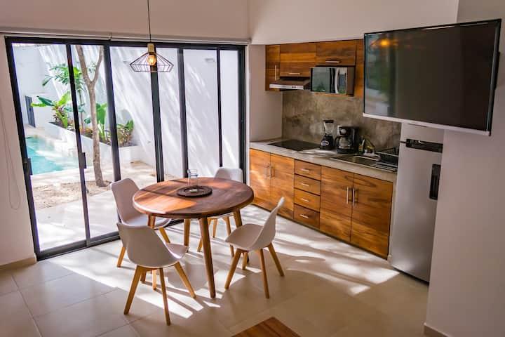 M1 _ UNIQUE GFloor Apartment 1Bd 4Pax W/POOL VIEW
