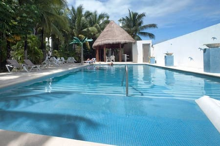 #1-Stylish room Private Bath, Pool,1 min to beach - Playa del Carmen