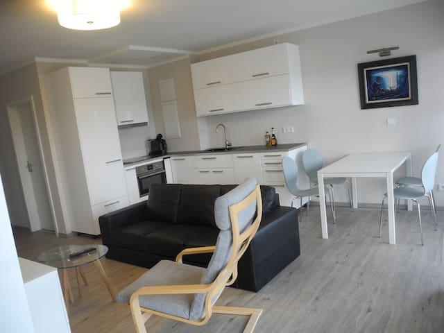 Seniorengerechte Wohnung am Strand - Schönberg - Leilighet