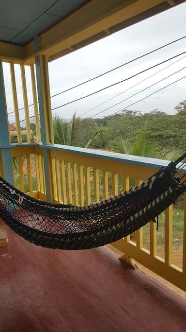 Cool breeze on the hammock...