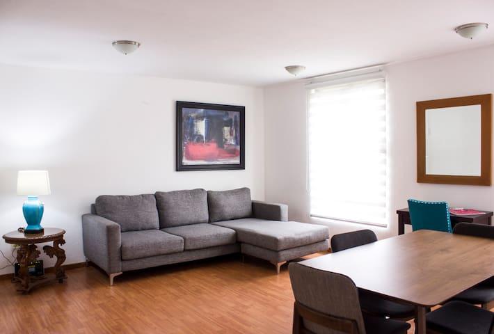 Departamento (402) Dos Habitaciones Colonia Roma