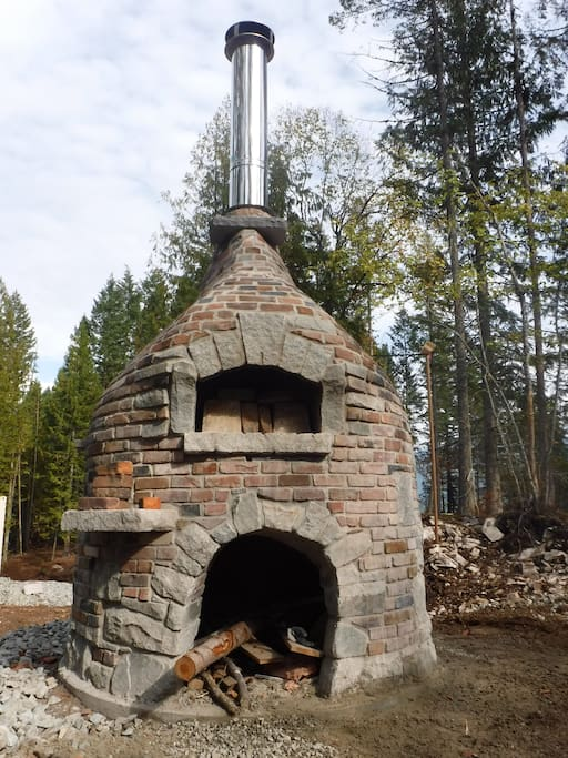 The epic pizza oven.