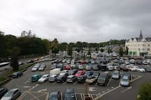 View from Balcony / Adjacent Car Park