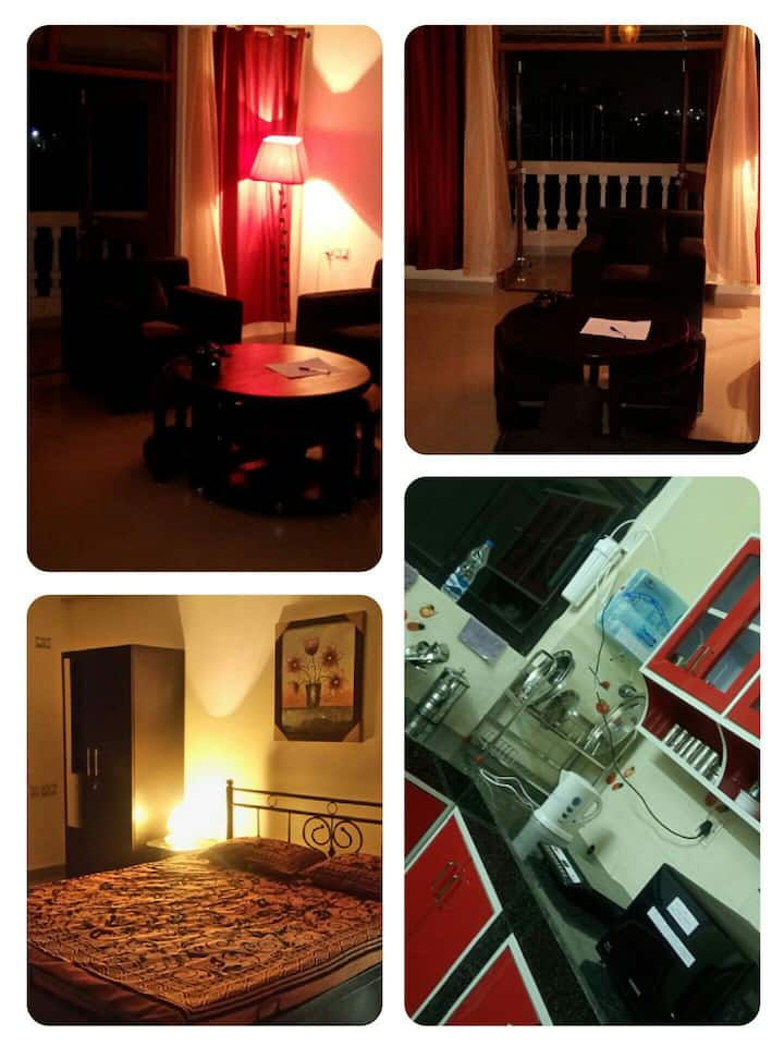 Furnished Seafacing 2 BR Appt in Goa,near airport
