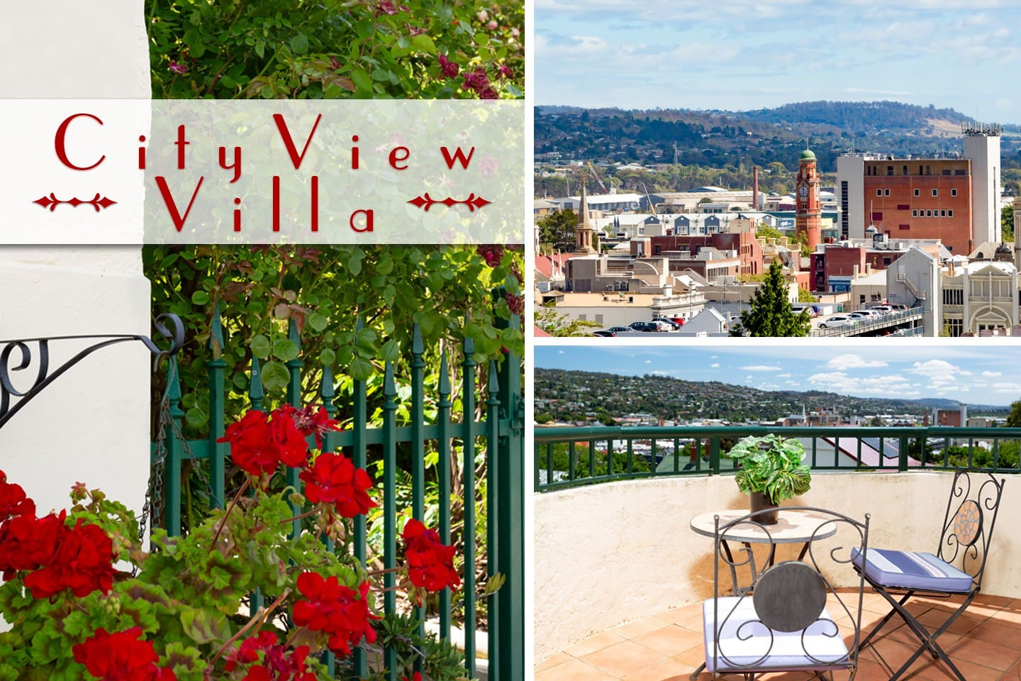 It's certainly not called CITY VIEW VILLA for nothing : )
